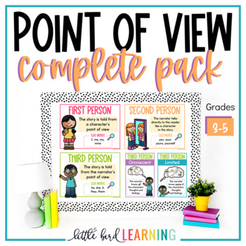 Point of View Complete Pack - Posters, Interactive Journal, Activities, & More