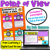 Point of View Craftivity: 1st Person & 3rd Person POV