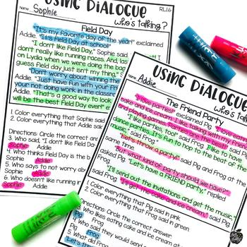 Point of View & Dialogue RL1.6 {Hands-on Reading}