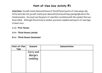 Point-of-View Dice Activity