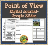 Point of View Digital Journal - Notes and Writing Activity