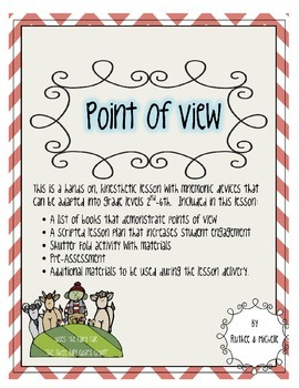Point of View ELA Standard 6 Interactive Highly Engaging L