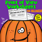 Halloween Point of View Passages    PDF and Digital  