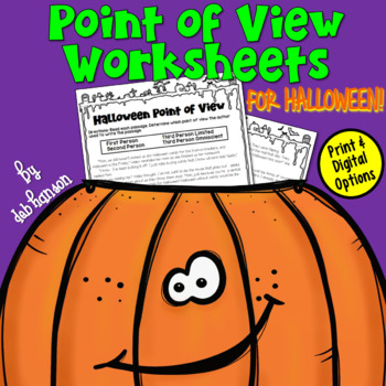 Point of View FREEBIE for Halloween (1st Person, 2nd Perso