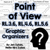 Point of View Fiction Graphic Organizers RL.3.6 RL.4.6 RL.5.6