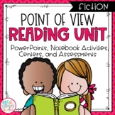 Point of View Fiction Reading Unit With Centers
