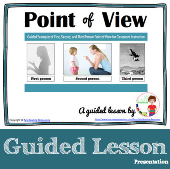 Point of View: First Person, Second Person, Third Person P