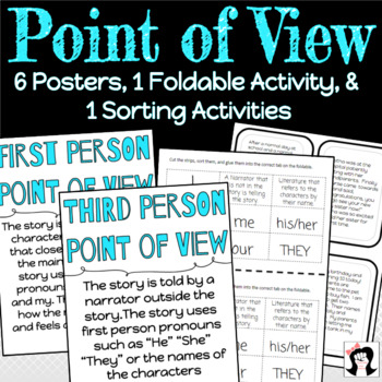 Point of View - First Person and Third Person