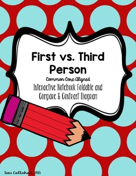 Point of View, First Person vs. Third Person: Objective, O