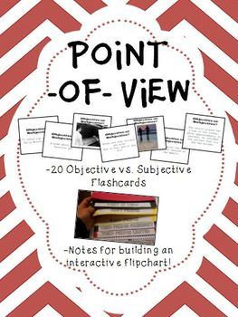 Point of View Flashcards and Flipchart