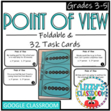Point of View *Foldable & Task Cards* 1st, 2nd, and 3rd person