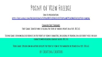 Point of View Freebie