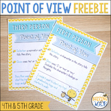 Point of View Freebie Pack (First Person, Third Person Limited, Omniscient)