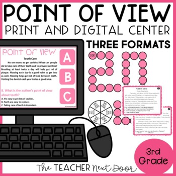 Point of View Game | Point of View Center | Point of View Activity
