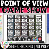 Point of View Game Show | Test Prep Review Game (PPT) | Di