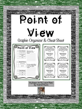 Point of View Graphic Organizer & Cheat Sheet