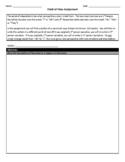 Point of View Graphic Organizer Worksheet