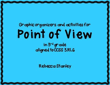 Point Of View Graphic Organizer Teaching Resources | Teachers Pay ...