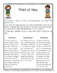 Point of View Handout and Worksheets