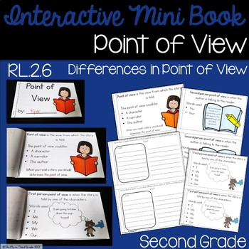 Point of View Interactive Mini Book {RL.2.6}