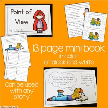 Point of View Interactive Mini Book {RL.3.6}