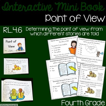 Point of View Interactive Mini Book {RL.4.6}