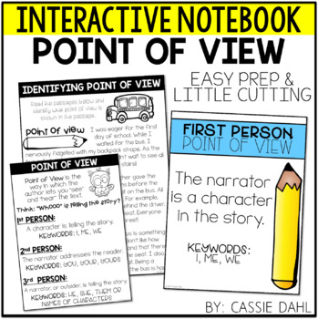 Point of View Interactive Notebook