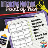 Point of View Interactive Notebook: Activities for Middle