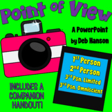 Point of View PowerPoint (1st, 2nd, 3rd Limited, 3rd Omniscient)