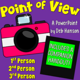 Point of View PowerPoint (1st, 2nd, and 3rd Person) Distan