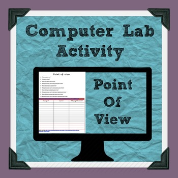 Point of View Lab Activity