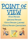 Point of View Lesson (First Person, Second Person, Third L
