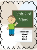 Point of View Mini Bundle-Passages and questions, Scavenger Hunt, Writing prompt