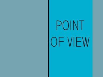 Point of View Mini Lesson
