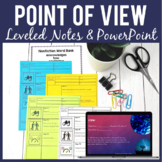 Point of View NONFICTION Guided Notes and PowerPoint