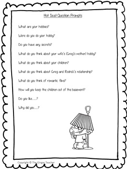 Point of View Narrative Writing Complete Lesson  – Diary of a Wimpy Kid