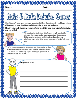 Point of View: Nate & Kate Debate: Games