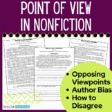 Author's Point of View - Includes Point of View Reading Passages