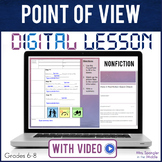 Point of View Nonfiction DIGITAL Guided Notes Google Class