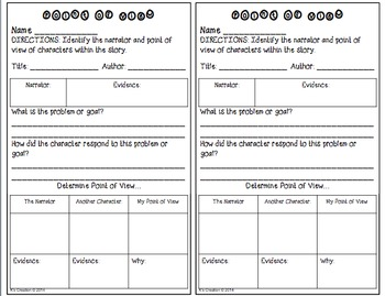 Point of View Teaching Packet