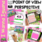Point of View & Perspective Common Core RL3.6 RL4.6 I Wanna Iguana
