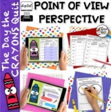 Point of View & Perspective Common Core RL3.6 RL4.6 The Day the Crayons Quit