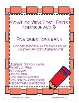 Point of View Post-Tests Forms A and B