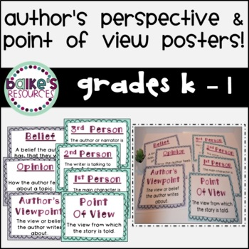 Point of View Poster Set