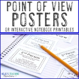 Point of View Posters | Point of View Interactive Notebook Page & Activities