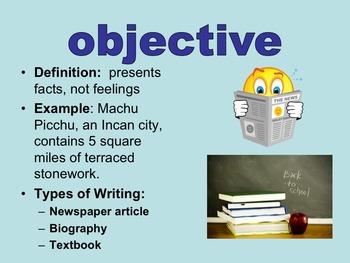 Subjective & Objective Pronouns