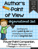 Point of View PowerPoint, Graphic Organizers, Passages, RI 3.6, RI 4.6