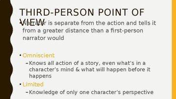 Point of View PowerPoint and Worksheet