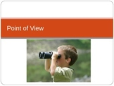 Point of View PowerPoint with Writing Activity