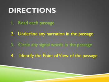 Point of View Practice Presentation